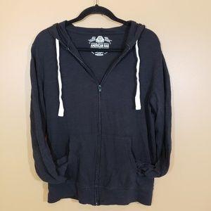 American Rag  light weight zipper Sweatshirt
